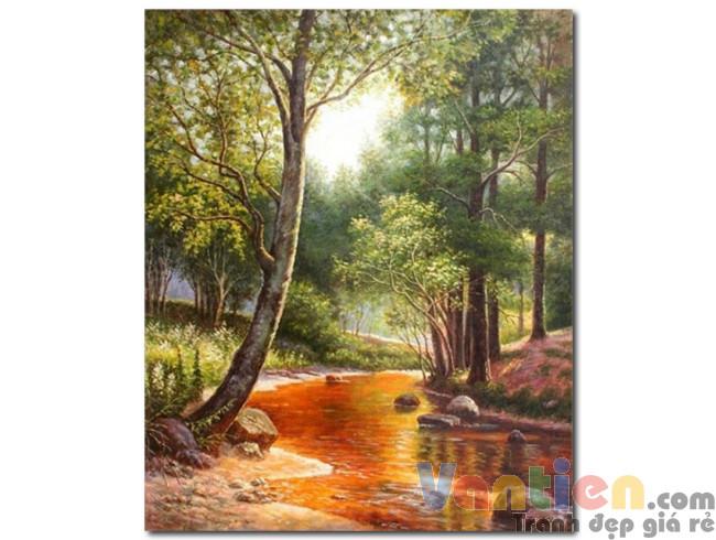 Hàng Cây Bên Bờ Suối M1178