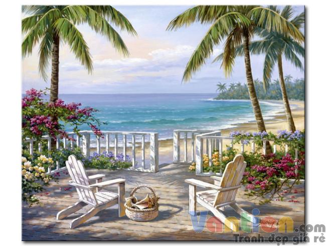 Hàng Dừa Bên Bãi Biển M1858