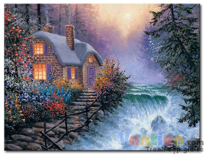 Ngôi Nhà Bên Thác Nước M1783