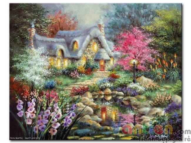 Ngôi Nhà Trong Vườn Hoa M1884