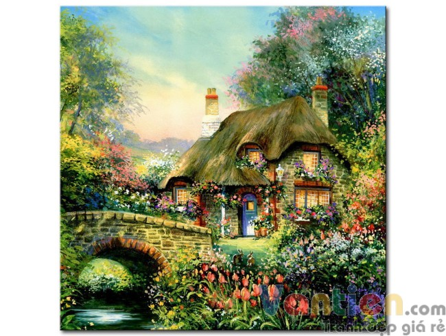 Ngôi Nhà Trong Vườn Hoa M1761