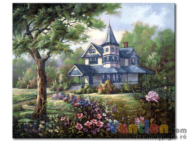 Ngôi Nhà Trong Vườn Hoa M1851