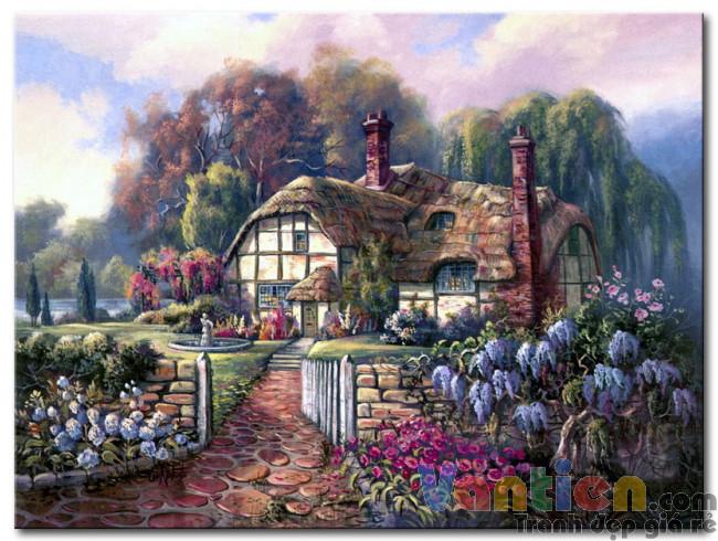 Ngôi Nhà Trong Vườn Hoa M1866