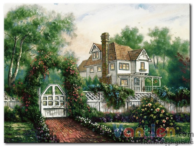 Ngôi Nhà Trong Vườn Hoa M1867