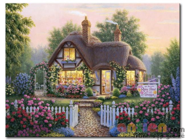 Ngôi Nhà Trong Vườn Hoa M1874