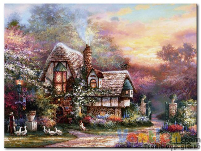 Ngôi Nhà Trong Vườn Hoa M1885