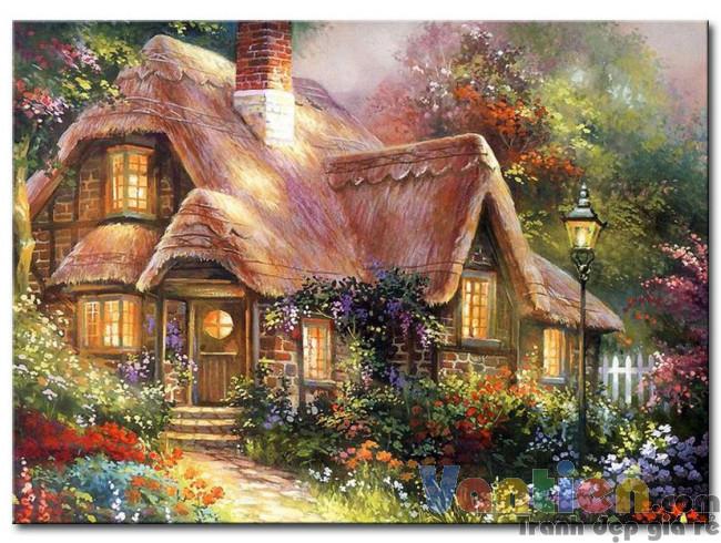 Ngôi Nhà Trong Vườn Hoa M1887