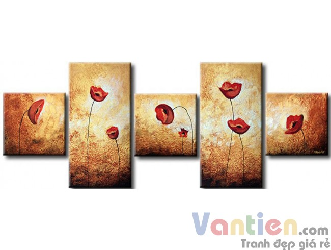 Những Cánh Hoa Poppy M0784