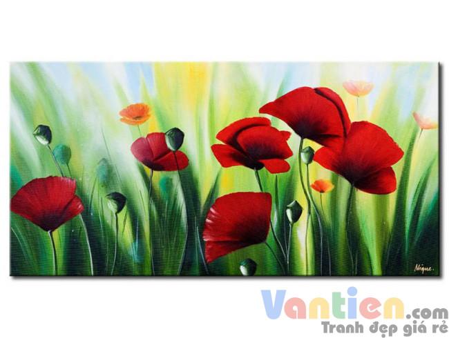 Những Cánh Hoa Poppy M0790