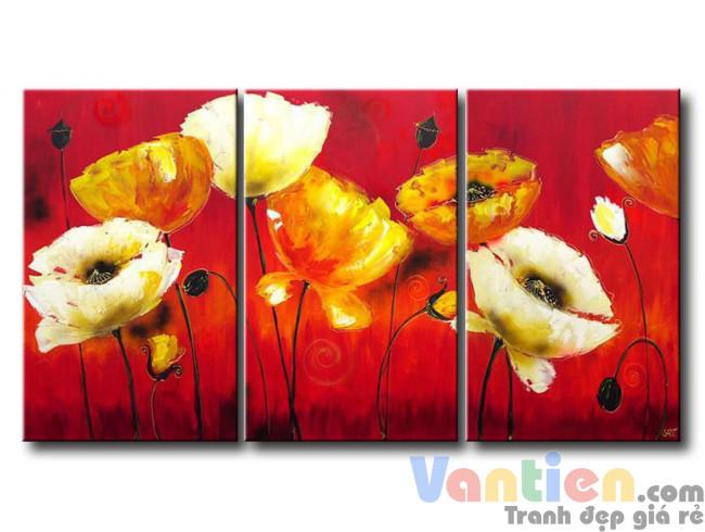 Những Cánh Hoa Poppy M1338