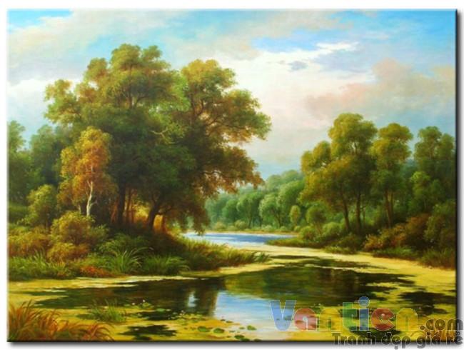 Phong Cảnh Mùa Thu M1122