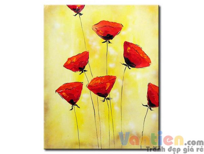 Những Cánh Hoa Poppy M0833