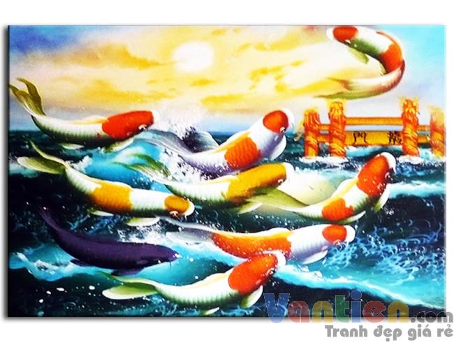 Cá Chép Vượt Vũ Môn M0129