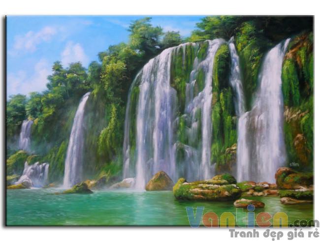 Phong Cảnh Thác Nước M0145