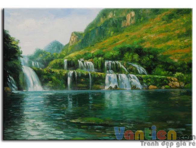 Phong Cảnh Thác Nước M0147