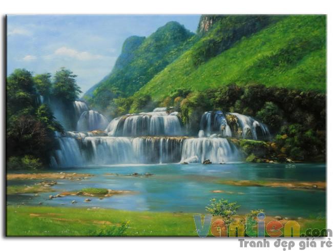 Phong Cảnh Thác Nước M0153