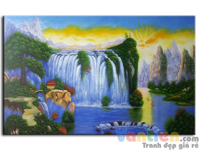 Phong Cảnh Thác Nước M0154
