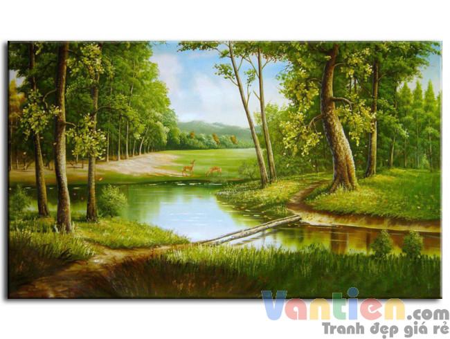 Phong Cảnh Rừng Xanh M0156