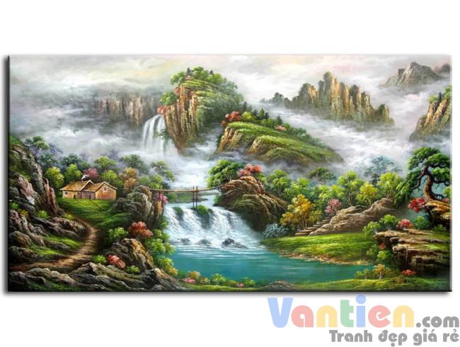 Phong Cảnh Thác Nước M0170