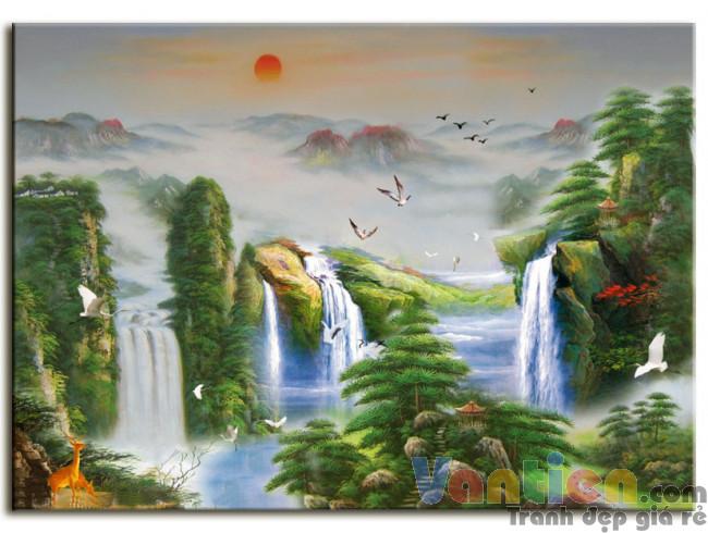Thác Nước Hùng Vĩ M0203