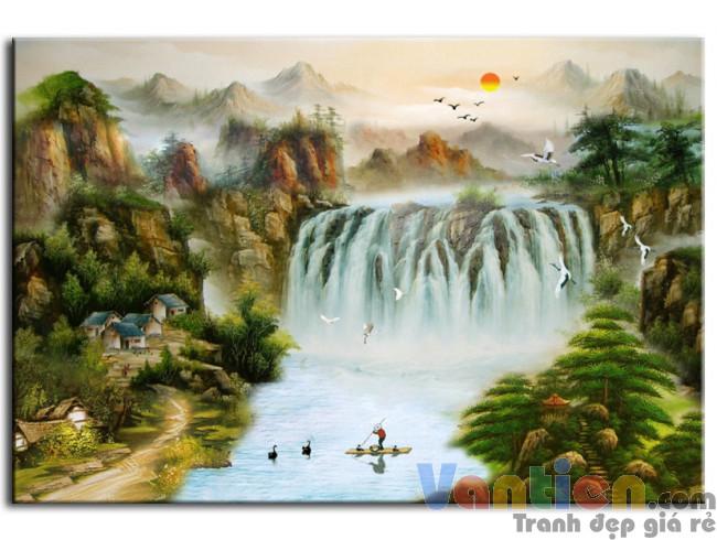 Thác Nước Hùng Vĩ M0205