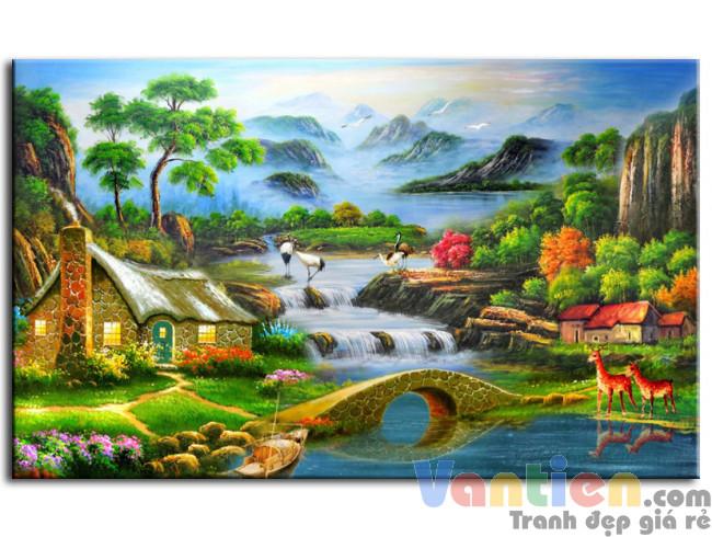 Ngôi Nhà Nhỏ Bên Dòng Suối M0206