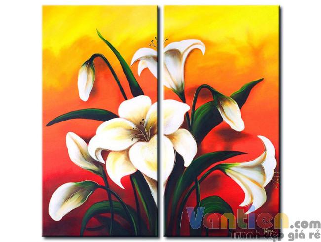 Hoa Ly Khoe Sắc M0483