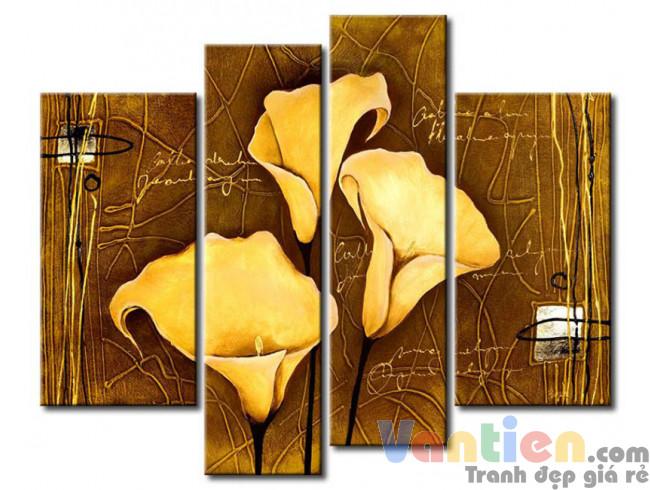 Hoa Rum Tone Màu Nâu Vàng M0517