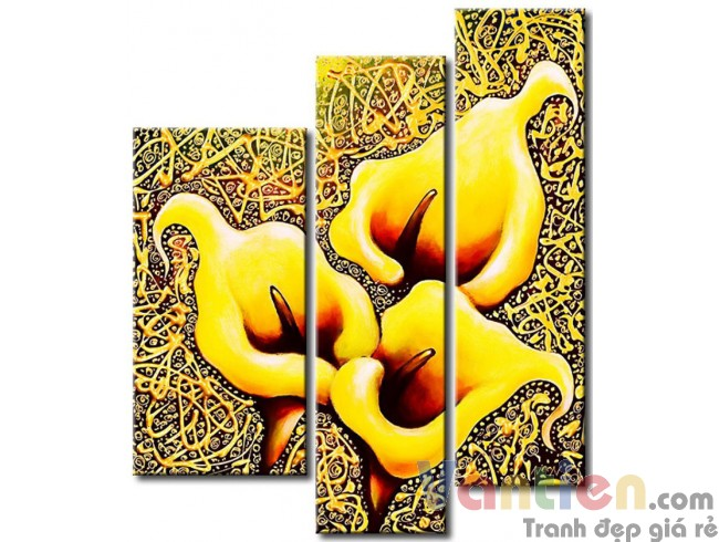 Hoa Rum Tone Màu Vàng M0534