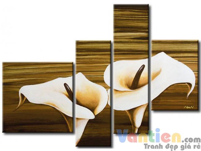 Hoa Rum Tone Màu Nâu Trắng M0607