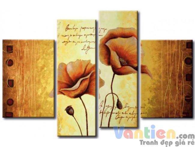 Những Cánh Hoa Poppy M0766