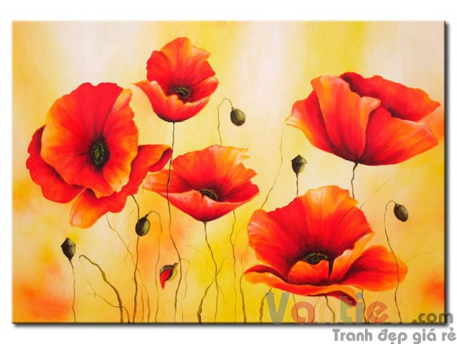 Sắc Hoa Poppy M0797