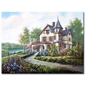 Biệt Thự Trong Vườn Hoa M1845