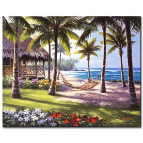 Hàng Dừa Bên Bãi Biển M1863