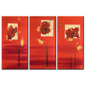 Những Cánh Hoa Poppy Khoe Sắc M0803