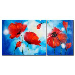 Những Cánh Hoa Poppy Khoe Sắc M0805