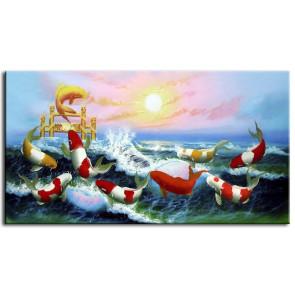 Cá Chép Vượt Vũ Môn M0131
