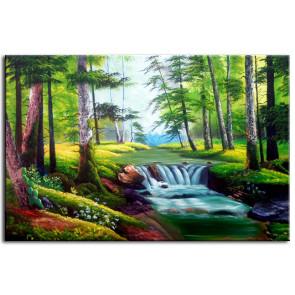 Suối Nước Trong Rừng M0144