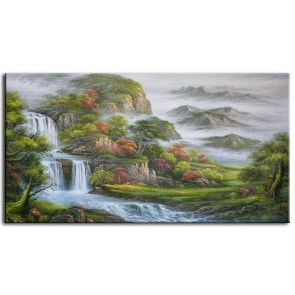 Phong Cảnh Thác Nước M0187