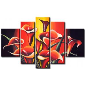 Hoa Rum Tone Màu Đỏ M0563