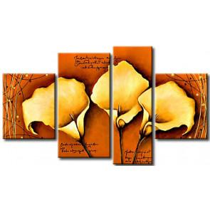 Hoa Rum Tone Màu Vàng Cam M0628