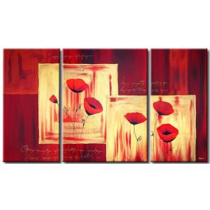 Hoa Poppy Tone Màu Đỏ M0747