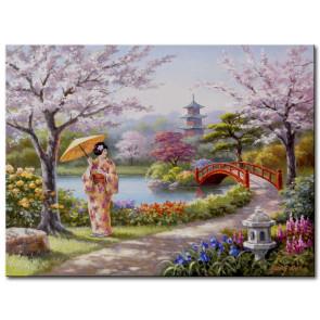 Vườn Hoa Nhật Bản M1810
