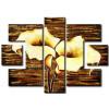 Hoa Rum Tone Màu Nâu Vàng M0594