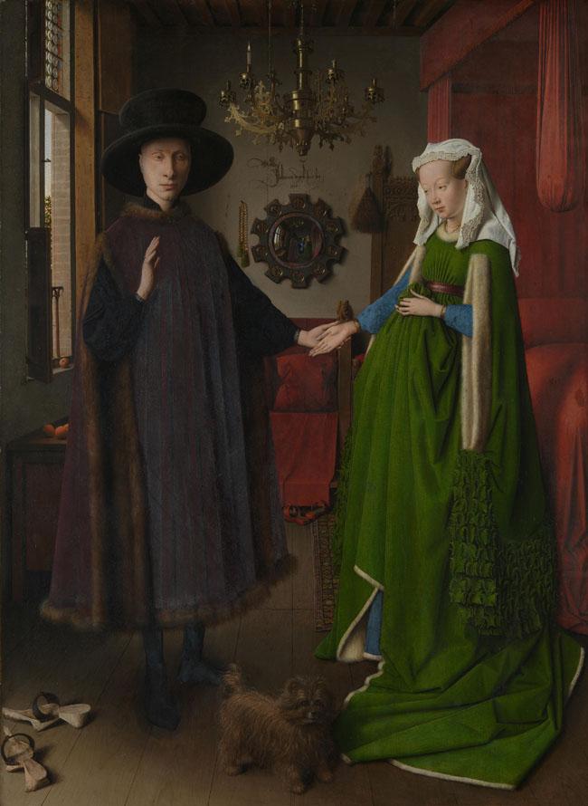 Arnolfini portrait (Chân dung Arnolfini) - Van Eyck