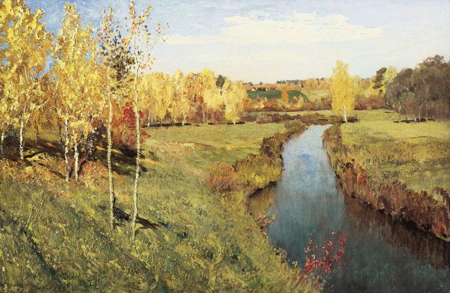 Mùa thu vàng - Levitan Isaac (1889)