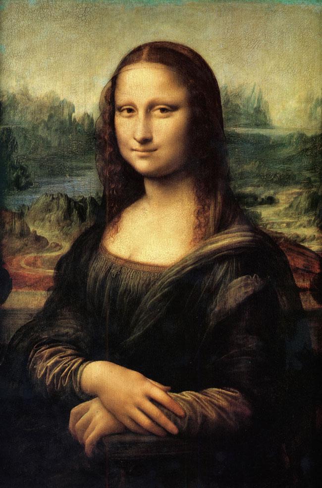 Bức tranh Nàng Monalisa - Sơn dầu trên gỗ - Leonardo da Vinci