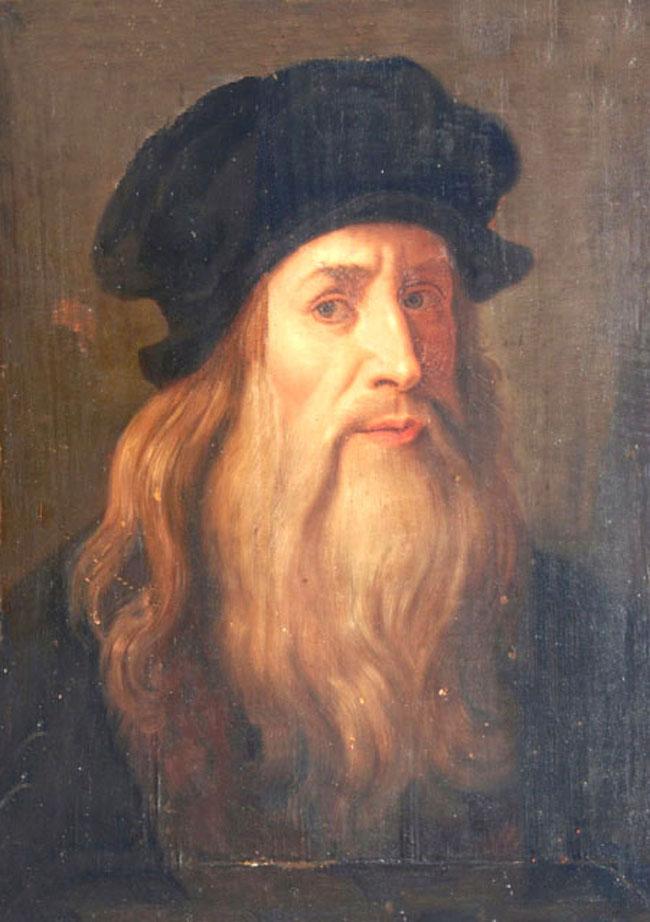 Chân dung tự họa - Leonardo da Vinci - nhà hội họa thiên tài người Ý